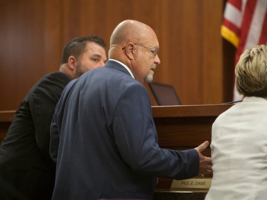 Defense Attorney Stephen Harris during the preliminary
