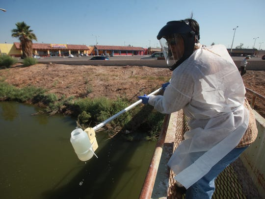 An employee of the California Regional Water Quality