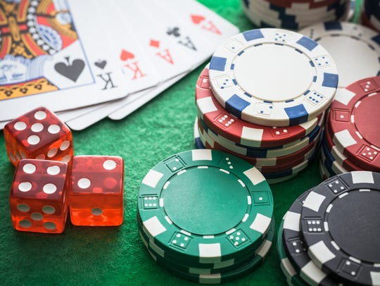 Playing cards, Casino chips