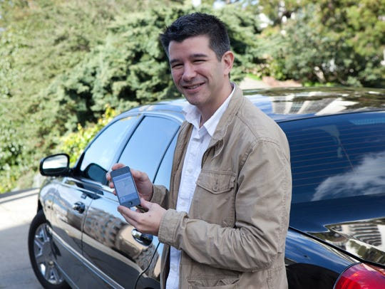 Travis Kalanick is the co-founder of Uber in this 2011