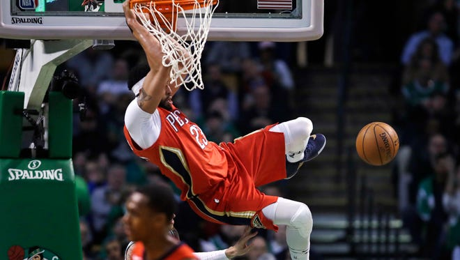 Anthony Davis of the New Orleans Pelicans had huge games against the New York Knicks and Boston   Celtics last week.