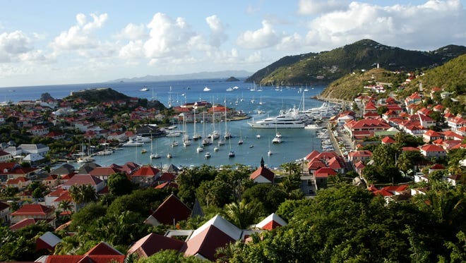 A view of St. Barts.