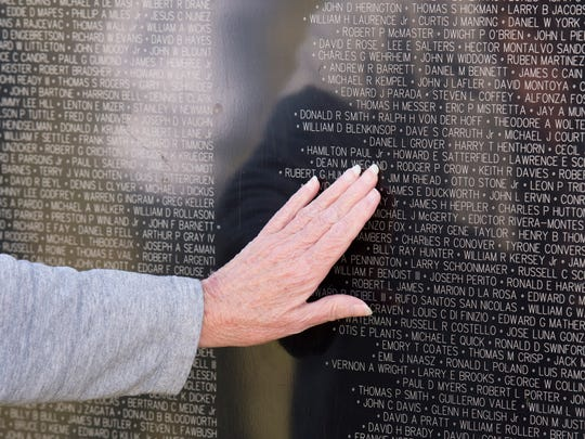 The Wall That Heals, a 300-foot half-scale replica of the actual Vietnam Veterans Memorial in Washington, D.C., has been at the Indian River County Fairgrounds in Vero Beach since Wednesday, January 25, 2017.  The traveling display is free and open to the public, 24 hours a day until 4 p.m. on Sunday, January 29, 2017. This national traveling memorial honors the more than three million Americans who served in the U.S. armed forces during the Vietnam War and its walls bear the names of the more than 58,000 men and women who made the ultimate sacrifice. Vero Beach is The Wall's only Florida stop.