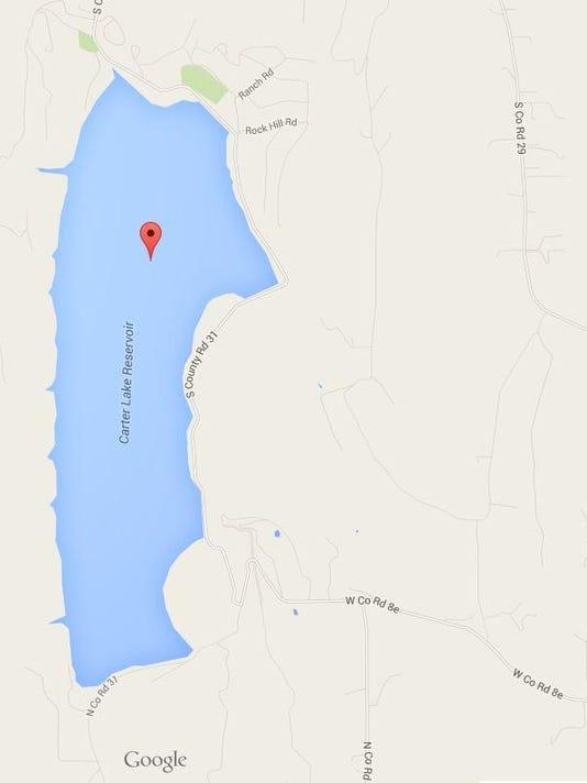 Carter Lake crash