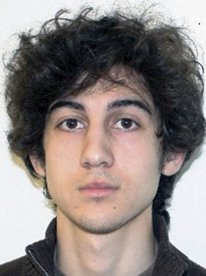 This file photo released April 19, 2013, by the Federal Bureau of Investigation shows Dzhokhar Tsarnaev, convicted and sentenced to death for carrying out the April 15, 2013, Boston Marathon bombing attack that killed three people and injured more than 260.