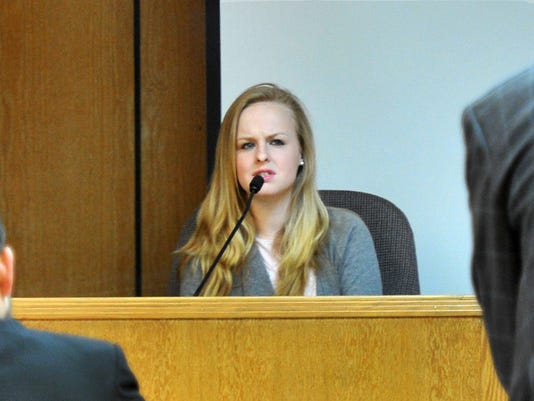 Brooks' ex-girlfriend testifies in court.
