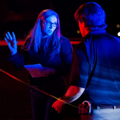 Fort Myers Police detectives investigate a  a fatal