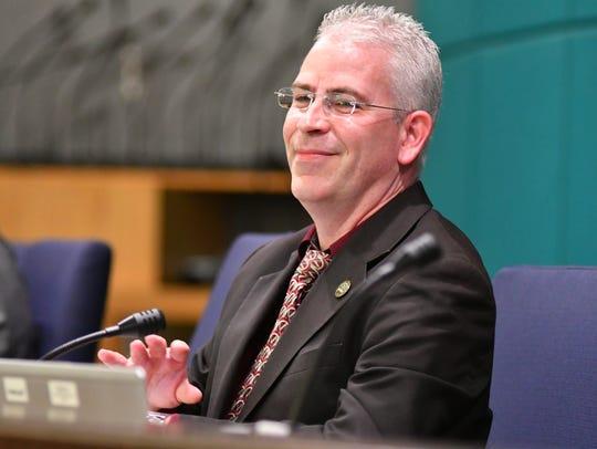 Palm Bay City Council member Tres Holton