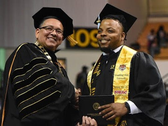 Grambling State University held its 2017 Fall commencement