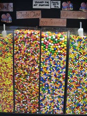Candy is displayed at Sweet Thing on Church Street
