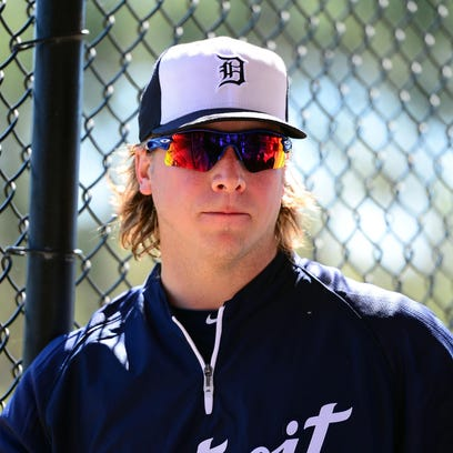 Tigers OF Andy Dirks.