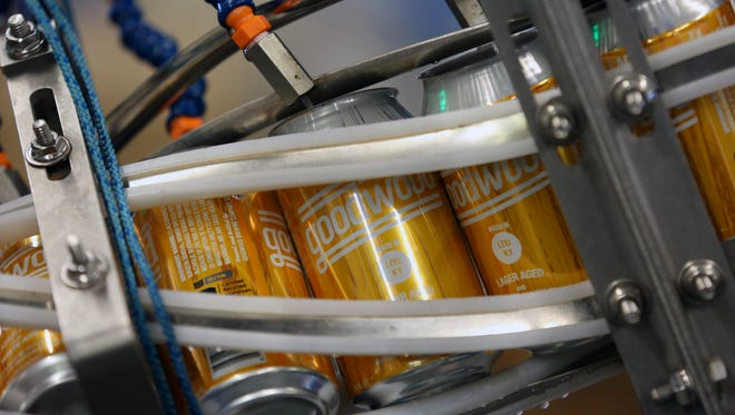 Goodwood Brewing is canning it's own beer now with the help of a Toucan Mobile Canning. The first beer selected for the new adventure is their Louisville Lager.Nov. 10, 2015