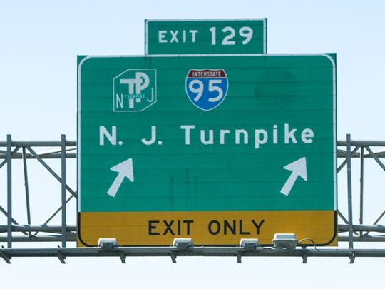 The Route 18 south entrance to the New Jersey Turnpike in East Brunswick has been closed following an accident involving an overturn tractor trailer.