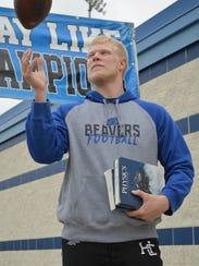 Harper Creek's Ryan McCafferty balances football and