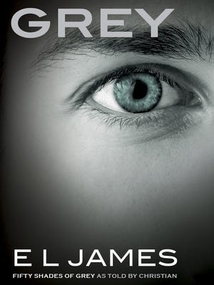 'Grey' by E L James.