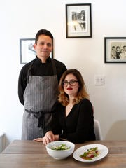 Mr. Koo's Kitchen Chef/Owner Ben Pope, left, and girlfriend