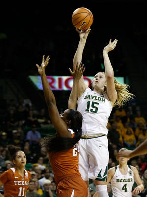 Baylor Bears forward Lauren Cox.