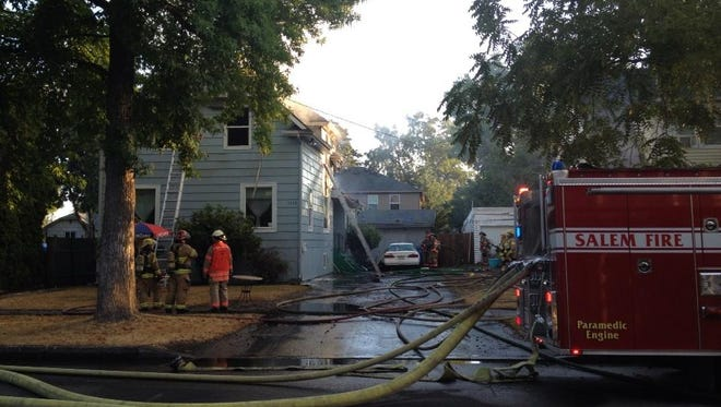 House fire on Madison St