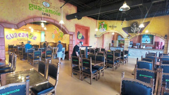 Guacamole Grill Mexican Restaurant is expected to open later this month in the Seminary Square retail development. The new restaurant will fill the space left vacant by Mi Casa Mexican Cuisine, 506 Knox Square Drive, which closed last summer. [JAY REDFERN/THE REGISTER-MAIL