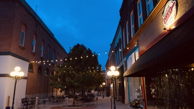 Monmouth is seeking a $2 million state grant for beautification and infrastructure enhancements on the public square and Market Alley.