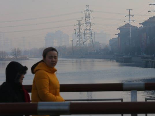 EPA CHINA AIR POLLUTION ENV ENVIRONMENTAL POLLUTION CHN BE