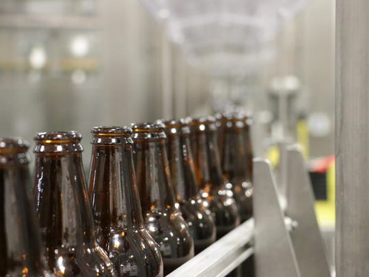 Woodchuck Hard Cider's new bottling line handles 600 bottles per minute and includes a pasteurization process.