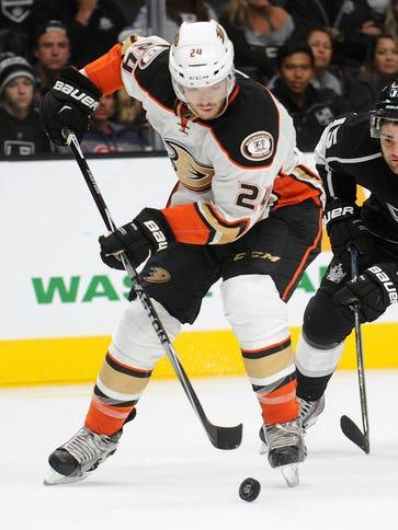 Anaheim Ducks defenseman Simon Despres had 23 points