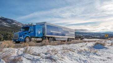 Embark is a new self-driving truck company that has begun testing its autonomous big rig in Nevada.