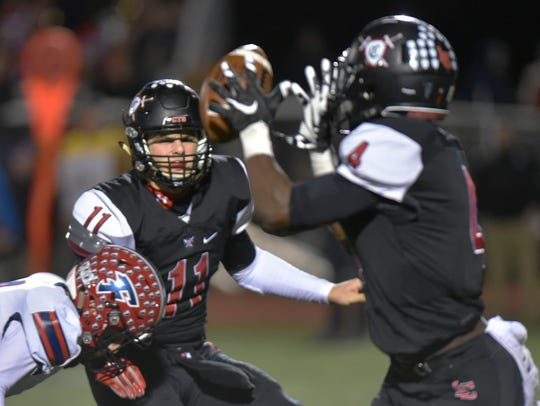 Livonia Churchill quarterback Drew Alsobrooks was selected to the All-KLAA Gold Division team.