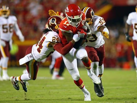 USP NFL: WASHINGTON REDSKINS AT KANSAS CITY CHIEFS S FBN KC WAS USA MO