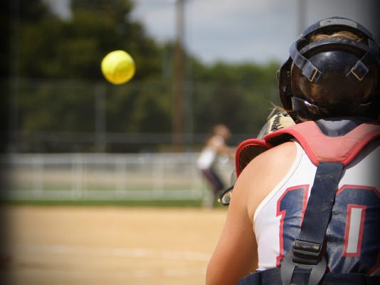 Presto graphic sports softball