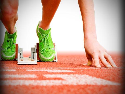 Presto graphic track running runner sports