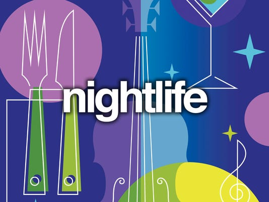Presto graphic nightlife music entertainment music