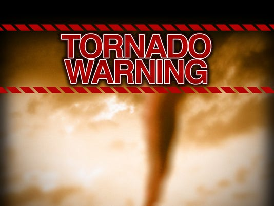 Presto tornado warning weather