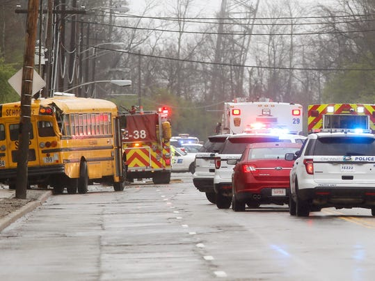 School Bus Crash-Cincinnati