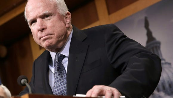 Senate Armed Services Committee Chairman John McCain,