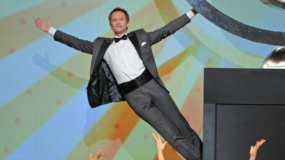 Actor Neil Patrick Harris performs on stage at the