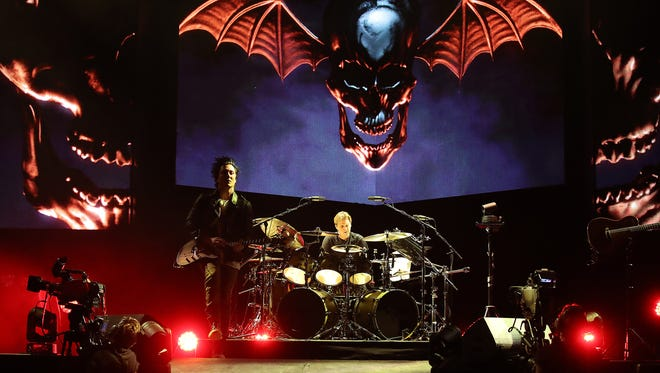 Avenged Sevenfold Wednesday, January 24, 2018 at the Resch Center in Ashwaubenon, Wis.