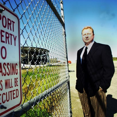 Fired administrator sues Butler County, blames Sheriff Jones for airport crisis