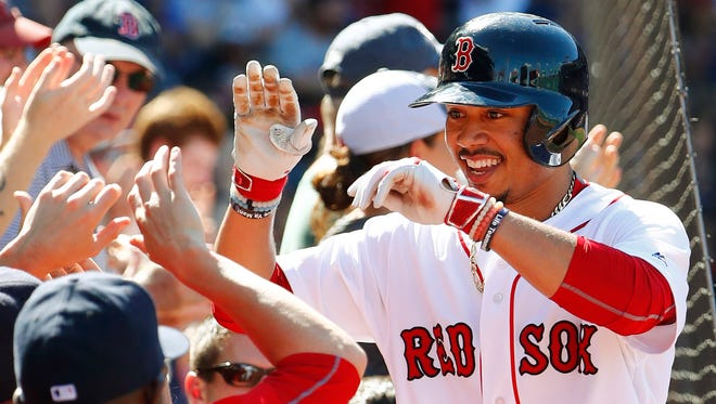 OF Mookie Betts, Boston Red Sox
