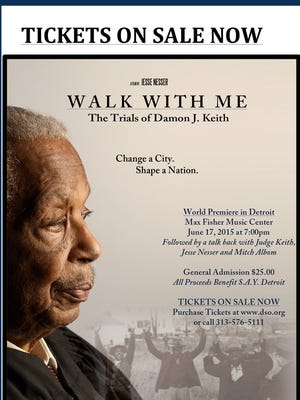 Walk With Me Official Poster detroit free press