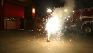 Officials caution to avoid setting off fireworks when possible due to prevalent wildfires and the chance of injury.