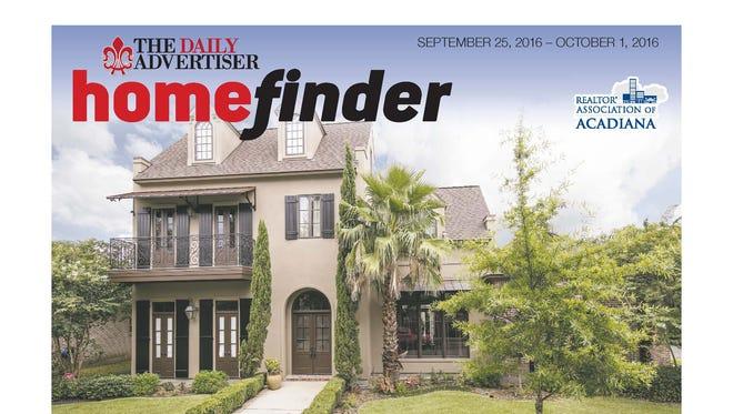 Homefinder, Sept. 25, 2016.