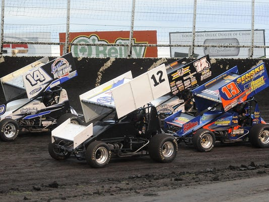 Husets Speedway - 410 sprint cars