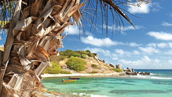 Built on arid, volcanic rock, St. Barts offers a variety
