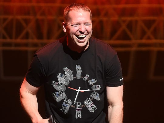 Actor/comedian Gary Owen performs.