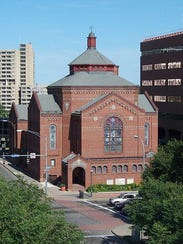 The First Universalist Church on South Clinton Avenue