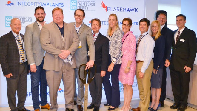 Medical device company Integrity Implants, Inc., hosted a ribbon-cutting ceremony at its new headquarters in Palm Beach Gardens. The privately held company founded in 2016 delivers innovative products and solutions for challenging spinal surgeries.