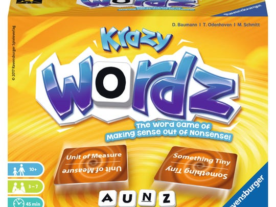 A challenging word game that's about making sense out of nonsense.