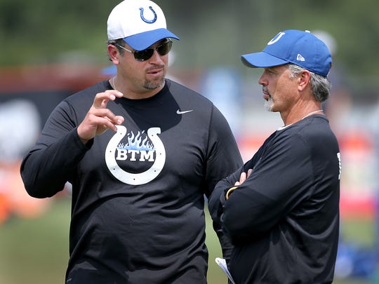 In their five seasons as general manager and coach, Ryan Grigson and Chuck Pagano own the fifth-best record of any pair in football.